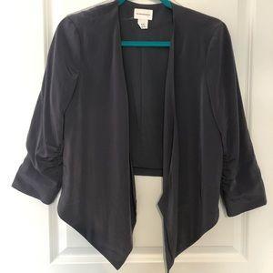 Club Monaco - silky drape blazer jacket- medium